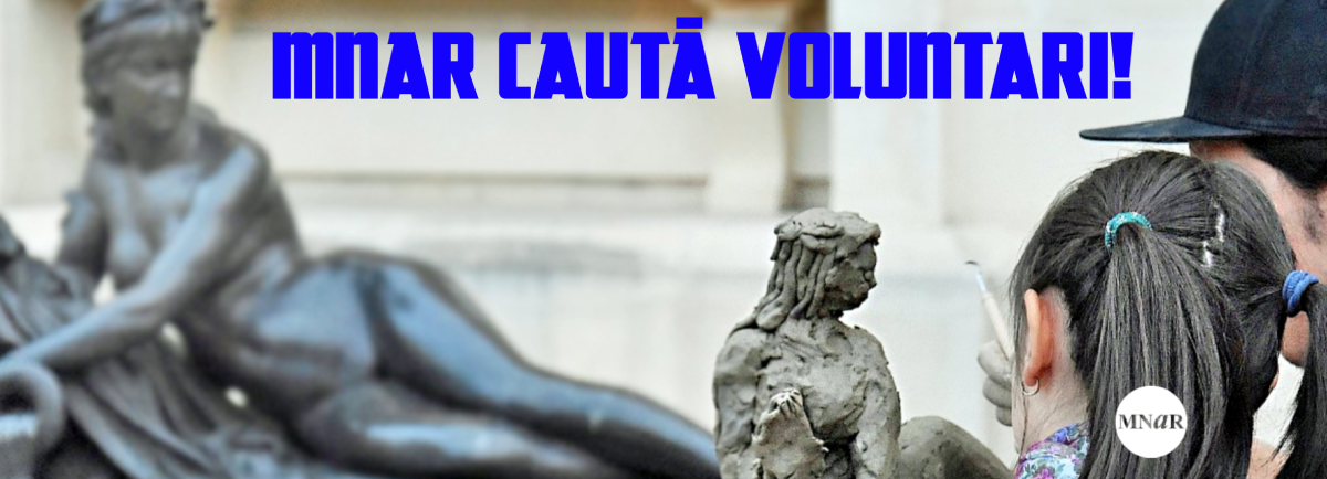 MNAR CAUTĂ VOLUNTARI!