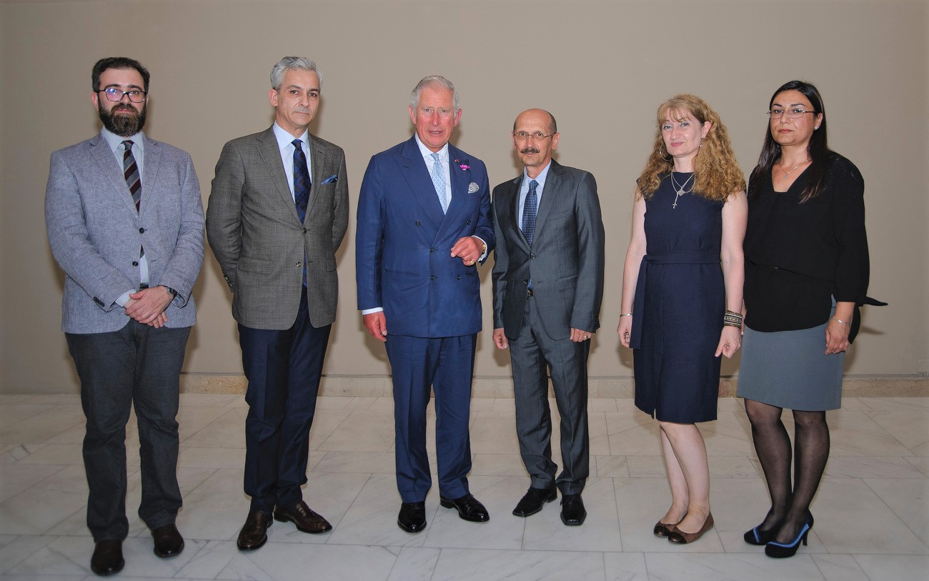 His Royal Highness the Prince of Wales visited the National Museum of Art of Romania