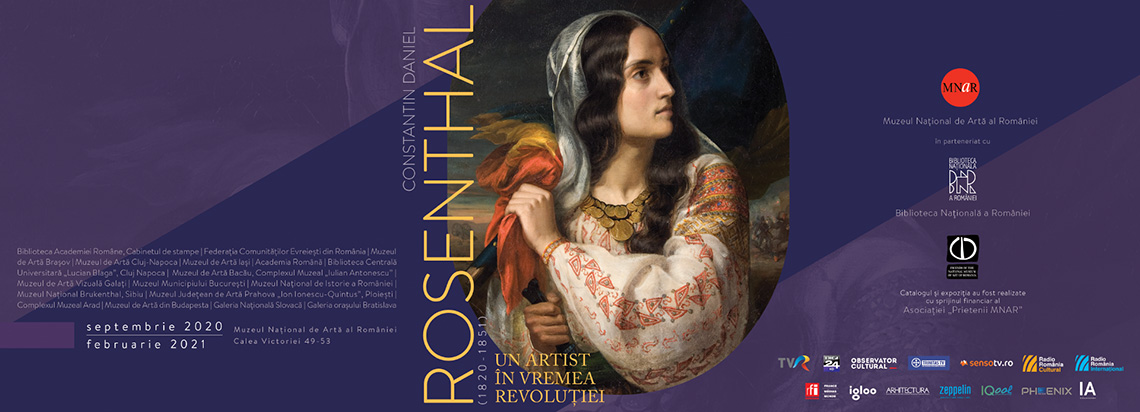 """C.D. Rosenthal. An artist in the time of revolution"""