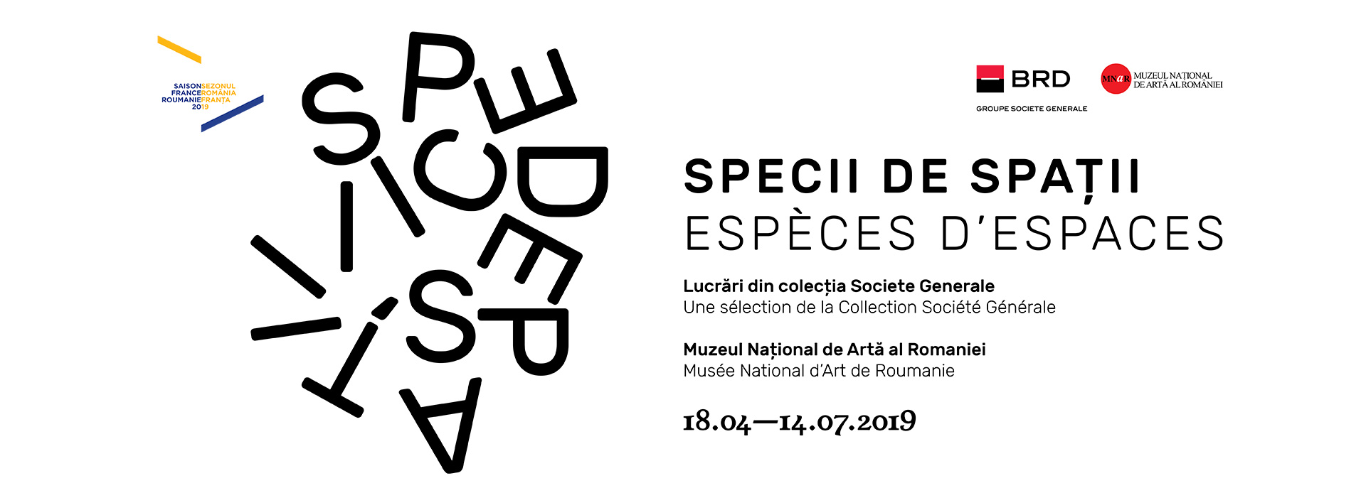 Species of Spaces – Works from the Société Générale Collection
